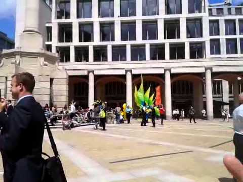 Parade in Paternoster Square