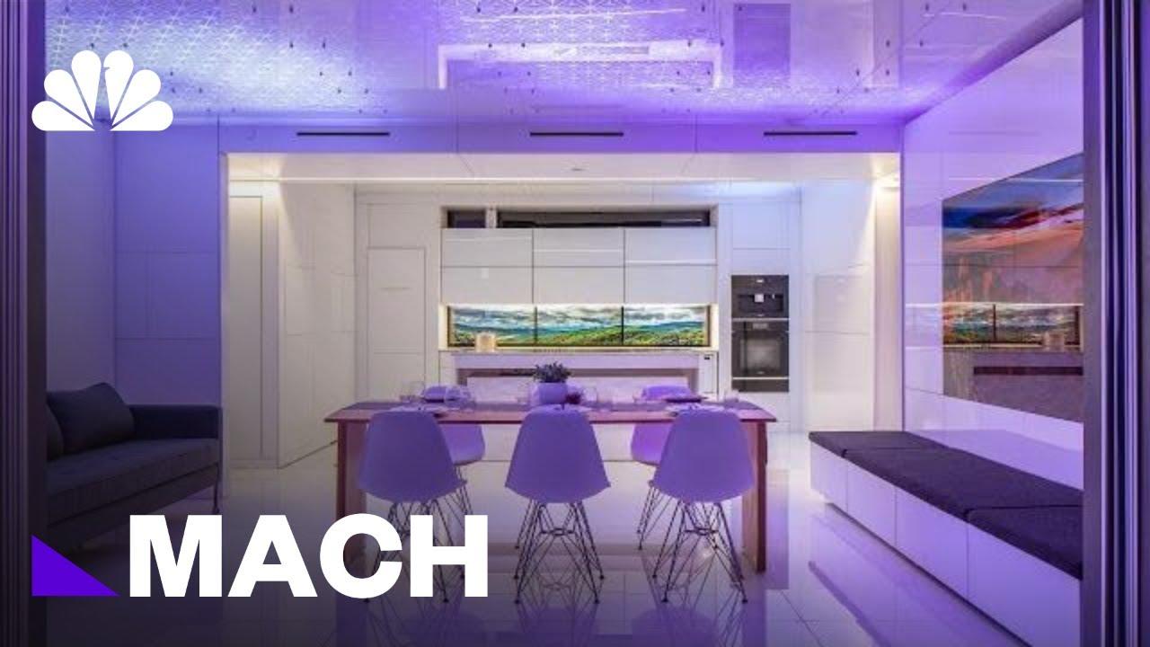 Full Futurehaus Inside The Hi Tech Home Of The Future Mach Nbc News Youtube