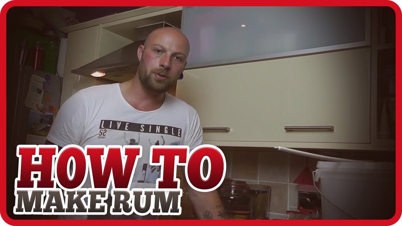How to make a Bacardi style Rum in your own home