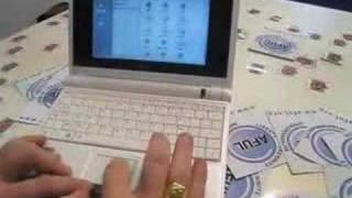 Asus eeePC sous Xubuntu avec Compiz