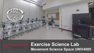 (360 Video) Exercise Science Lab Movement Science Space UNIV4005