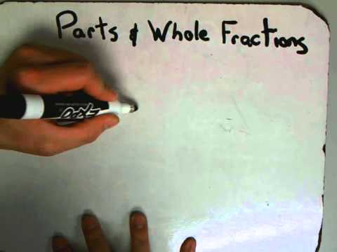 Parts And Whole Fractions 2