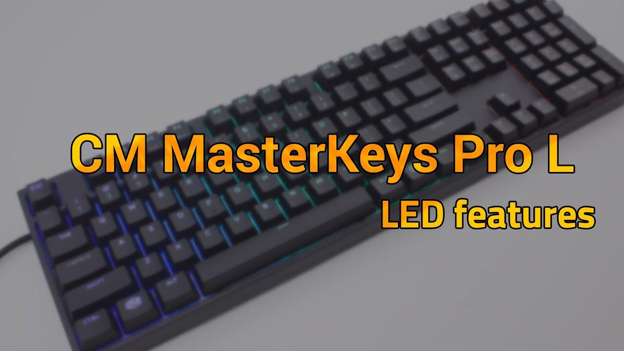 Cooler Master MasterKeys Pro L Keyboard Review: Spectrum Ad