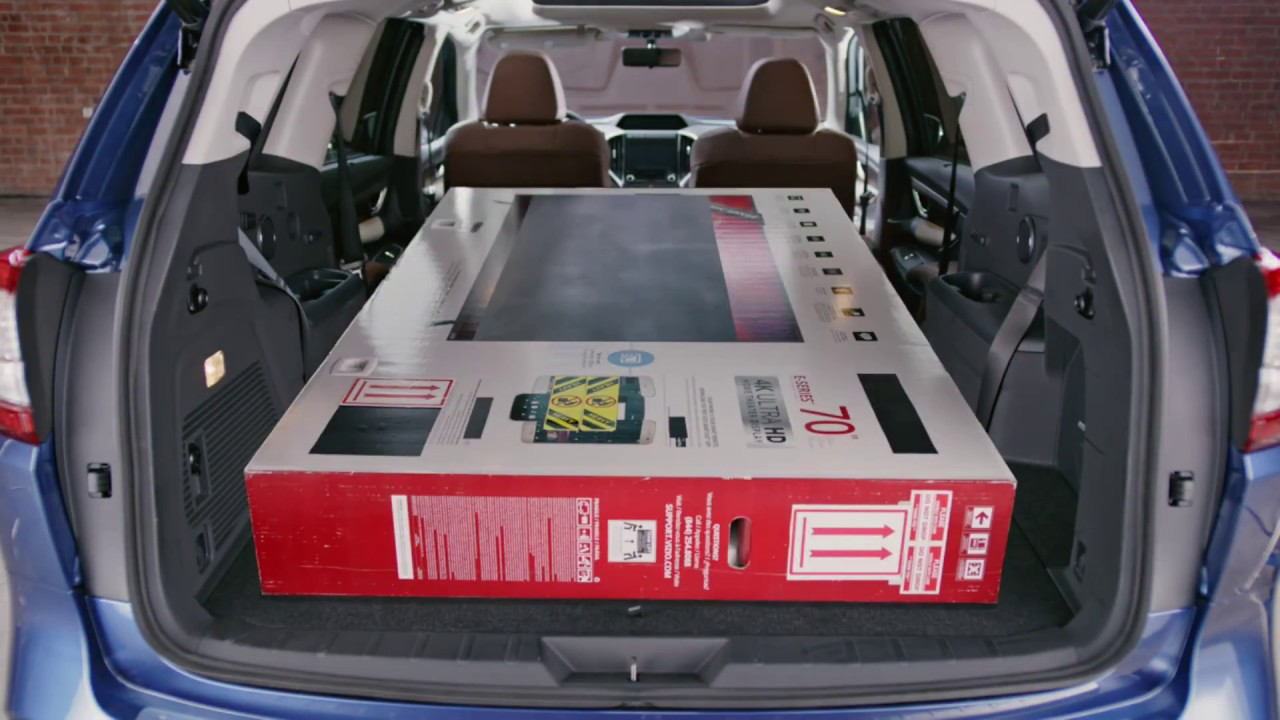 2019 Subaru Ascent Exterior Interior And Cargo Space