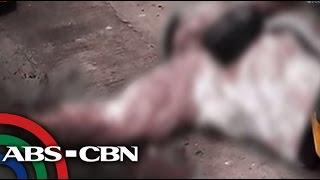 TV Patrol: Tricycle driver, tinaga dahil sa agawan sa pasahero, sapul sa CCTV