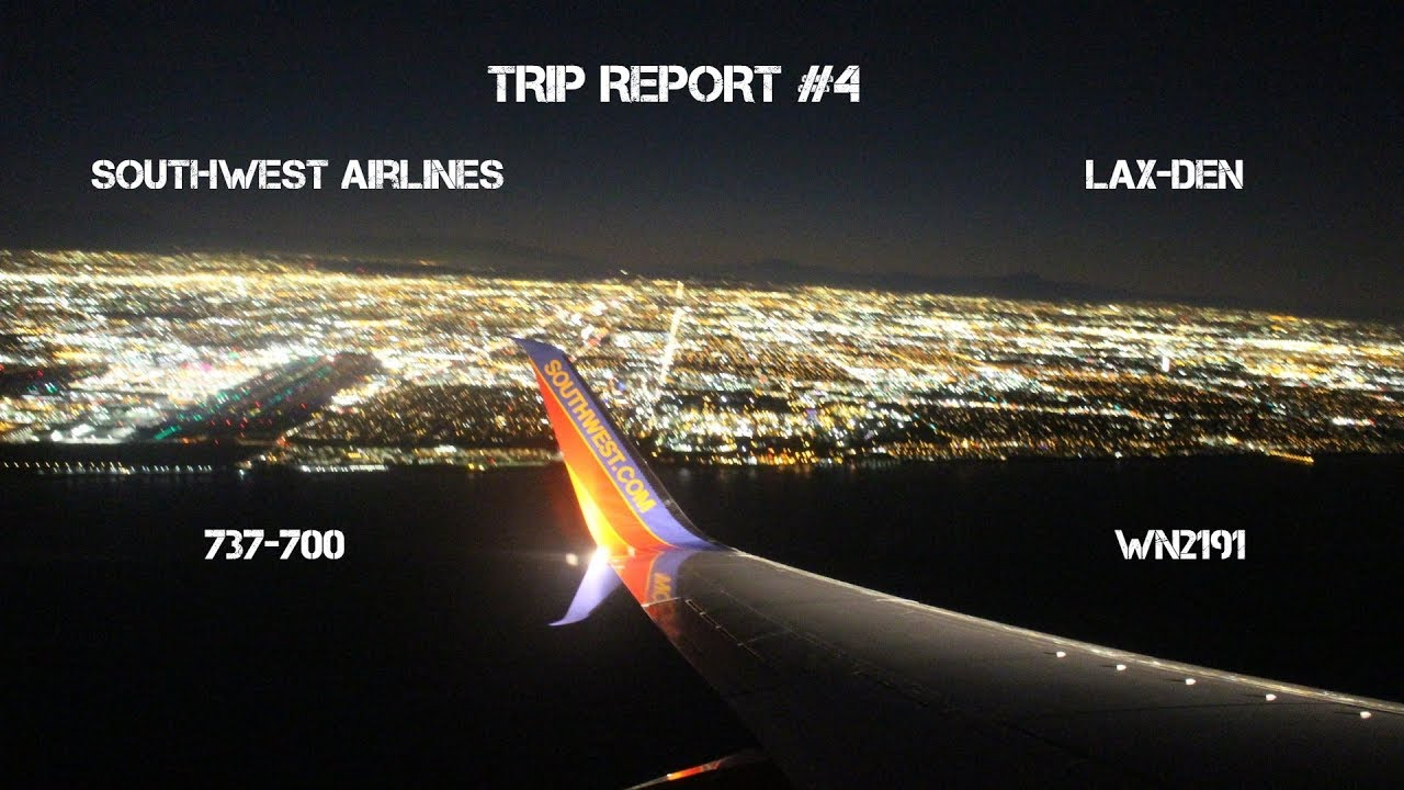 flights from denver to lax southwest