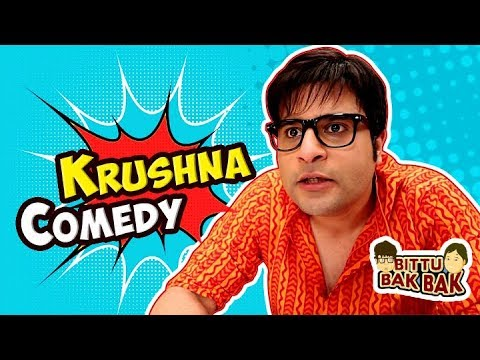Krushna and Bittu Comedy | Bittu Bak Bak thumbnail