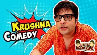 Krushna and Bittu Comedy | Bittu Bak Bak