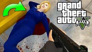 ¿Qué pasa si matas a HILLARY CLINTON en GTA 5? - Grand Theft Auto V