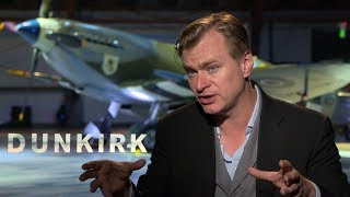 Director Christopher Nolan Discusses His Unusual Time Structure in 'Dunkirk'