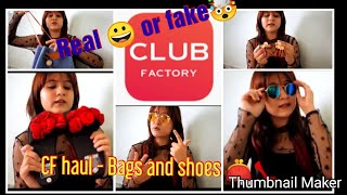 Club Factory Haul & Review| Shoes| Bag| Accessories| Honest Review
