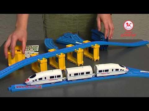 Железная дорога Супер экспресс Молния в Видео обзоре товаров интернет магазина...