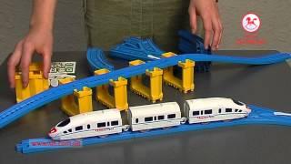 Железная дорога Супер экспресс Молния в Видео обзоре товаров интернет магазина