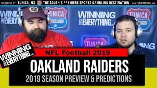 WCE: Oakland Raiders 2019 NFL Preview & Predictions