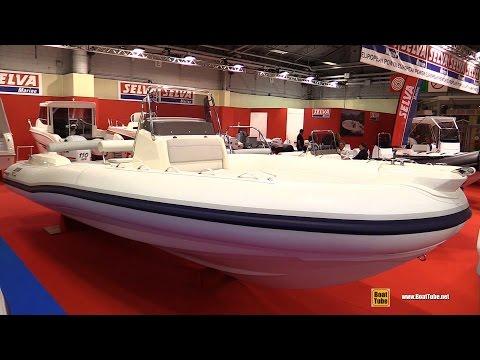 2016 Selva 790 Emotion Inflatable Boat - Walkaround - 2015 Salon Nautique de Paris