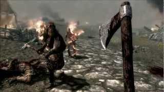 Skyrim Battle for Whiterun Modded Gameplay