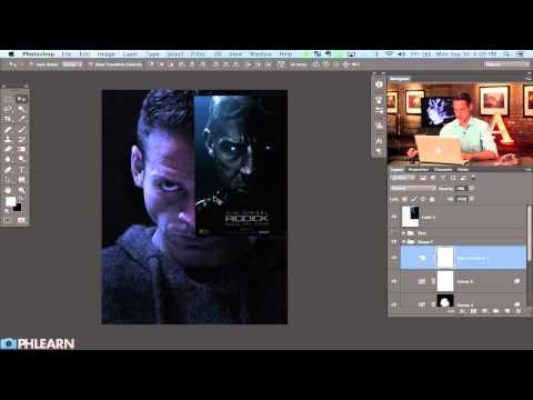 Creating a Movie Poster in Photoshop:  Riddick  Part 1
