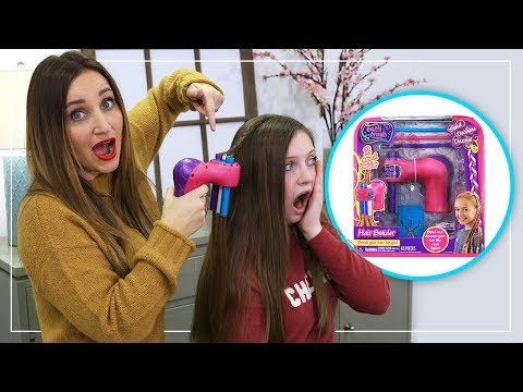 Does the Hair Braider Actually Work? | Toy Braider Fab or Fail | Cute Girls Hairstyles