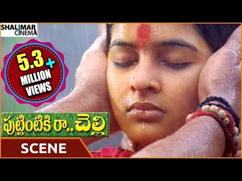 Puttintiki Ra Chelli Movie || Arjun Climax Sentiment Scene || Arjun, Meena || Shalimarcinema