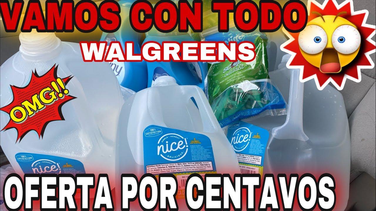 🔥🚨🤩Vamos a **WALGREENS** por las **AGUAS** y productos por **CENTAVOS**