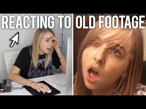 REACTING TO OLD VIDEO FOOTAGE