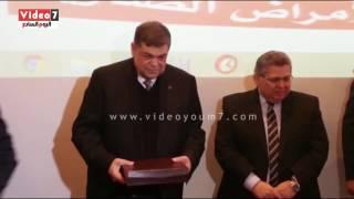 جامعة المنوفية تكرم وزير التعليم العالى