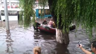 Потоп в Гомеле 10/07/2012