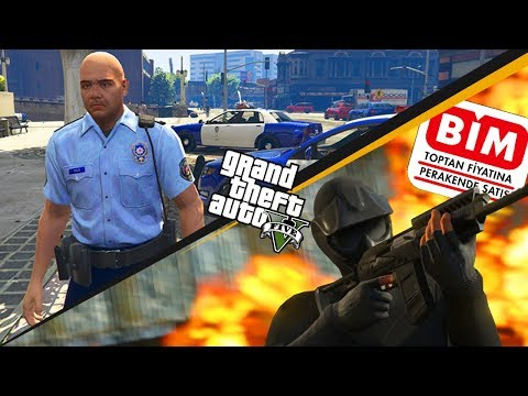 POLİS vs GTA 5 (BİMİ SOYDUK !)