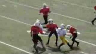 10 year-old Blake Burris Vikings Football Highlights