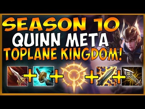 QUINN TOP IS AMAZING IN SEASON 10! YOU CAN CARRY GAMES AGAIN WITH THE BIRB - League of Legends
