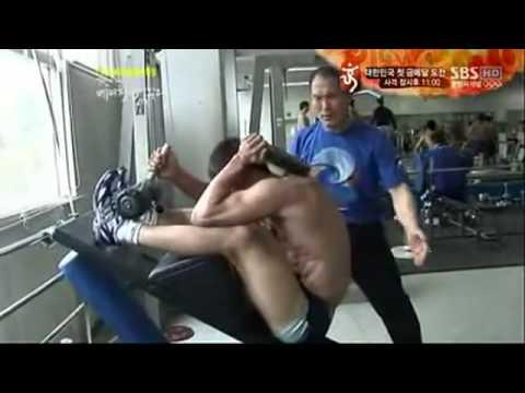 South Korea judo national team brutal training