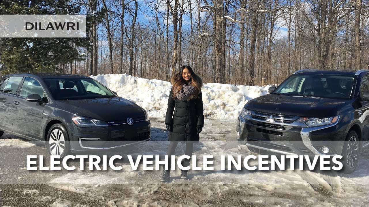 how electric vehicle incentives work (canada) - youtube