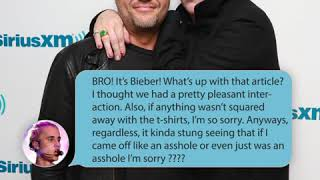 Marilyn Manson Shares Justin Bieber Text Exchange on Octane with Grant Random