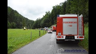 T / KB | tödlicher Verkehrsunfall auf der B176 in Kirchdorf/Tirol