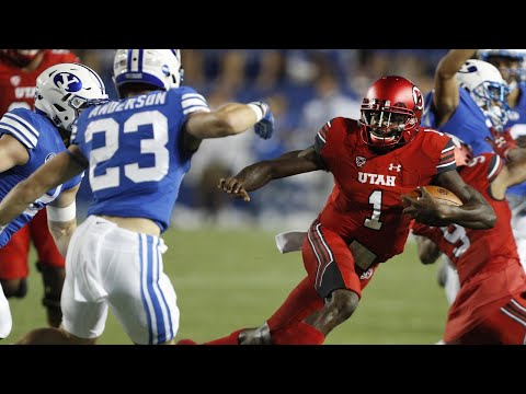 Highlights: Utah football tops rival BYU in Provo