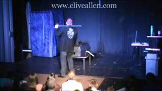 Sword Basket Illusion - Clive Allen & Tracy