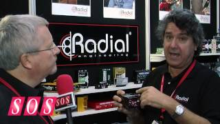 Radial USB Pro - AES 2013