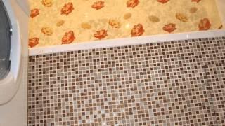 видео Ванная комната в панельном доме, ремонт, отделка, перепланировка