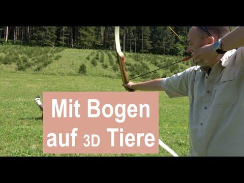 Bogenschiessen auf Tiere? | 3D Bogen Ziele Leitold