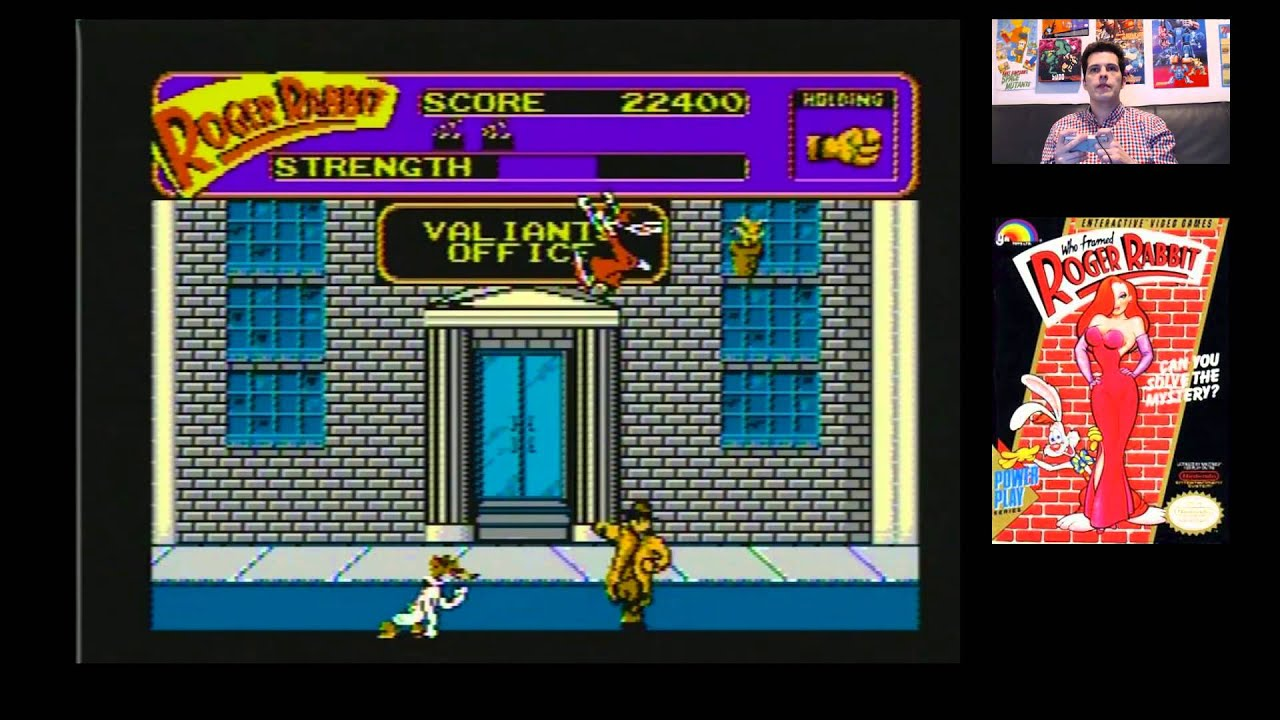 Who Framed Roger Rabbit (NES) Defeated! with Mike Matei - YouTube
