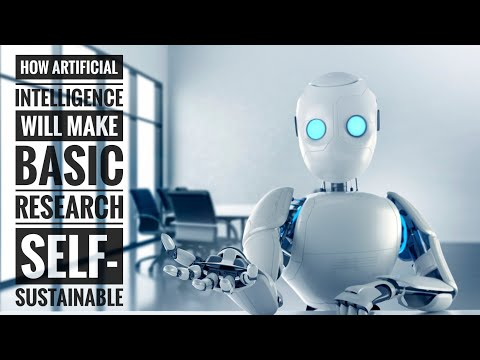 How Artificial Intelligence will make Basic Research Self-Sustainable | Sarah Jenna