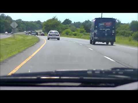 Fauquier County, VA Sheriffs Deputy James Arrington excessively speeding while not on duty