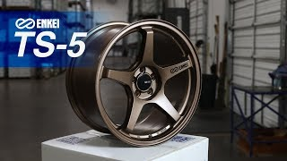 homepage tile video photo for Alex weighs the Enkei TS-5 Tuning Series Wheel