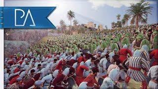 HOLDING OFF AN OCEAN OF ENEMIES - Siege Battle - Total War: Rome 2