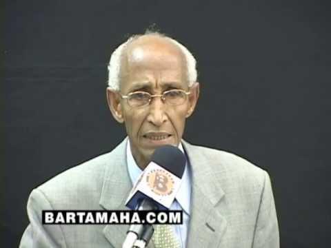Hassan Ali Mire talks to Somali Youth (1st Somali ...