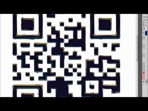 Chocolate Font QR Code