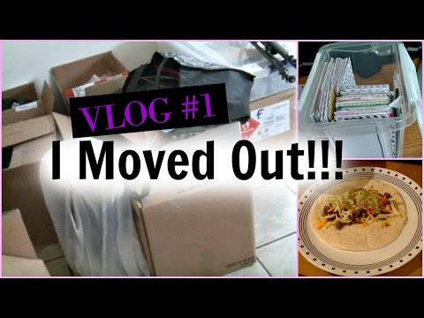 New Apartment Vlog #1 // Day 1+2 Unpacking and organizing