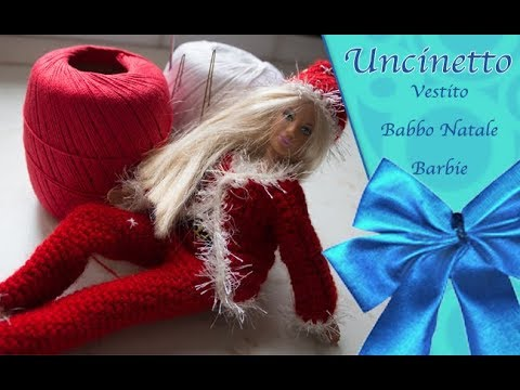 Barbie Natale.Uncinetto Barbie Giacca Di Natale Parte 2 How To Do