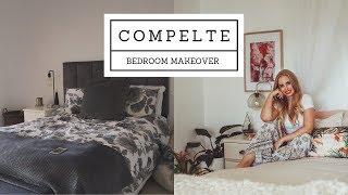 Complete bedroom makeover PLUS DIY