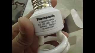 Review Lampu Hemat Energy Panasonic Light Capsule Neo